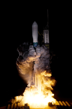 United Launch Alliance's Delta II rocket carrying NASA's Kepler spacecraft