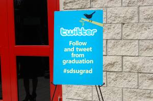 SDSU encouraged Tweeting during Commencement ceremonies this year