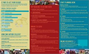 SDSU adminssions brochure