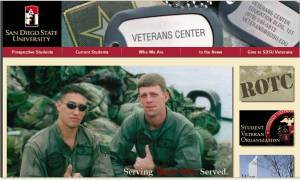 New SDSU Veterans Website