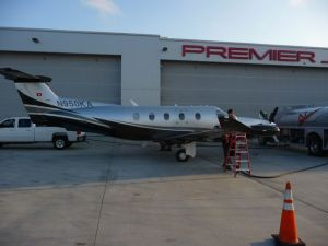 N950KA back home at Palomar Airport - 70 hours 18,000 miles