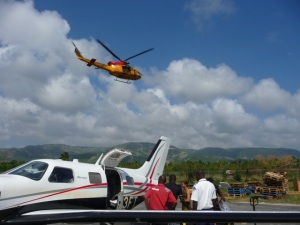 Canadians departing Jacmel
