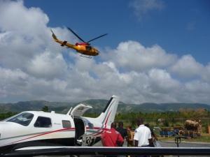 Canadians departing Jacmel