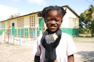 haitian orphan outside les cayes