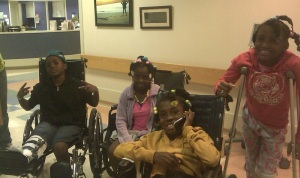 Our Kids in Shriner's Hospital in Philly