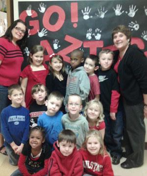 Ms. Hill's Kindergarten Class, Russiaville, Ind.