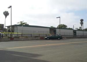 Portable Classrooms in P Lot
